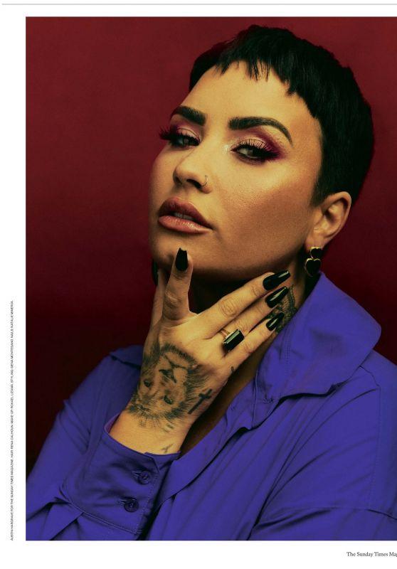 Demi Lovato - The Sunday Times Magazine 03/28/2021 Issue • CelebMafia