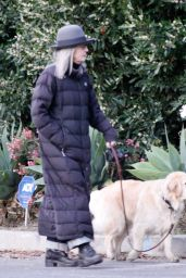 Diane Keaton - Out For a Morning Stroll in Brentwood 03/23/2021