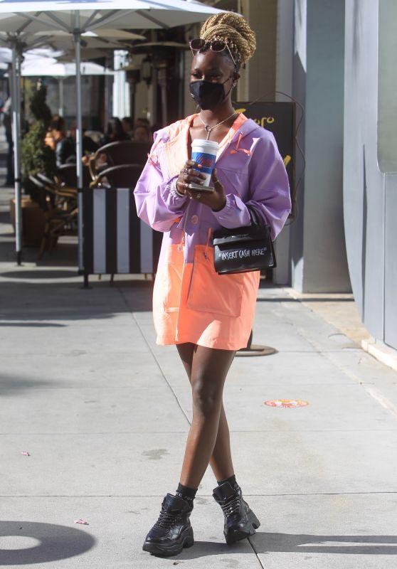 Diarra Sylla - Shopping in Beverly Hills 03/11/2021
