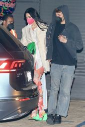 Dua Lipa With Her Boyfriend Anwar Hadid at Nobu in Malibu 03/21/2021