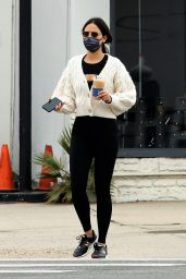 Eiza Gonzalez in Black Tights - West Hollywood 03/07/2021