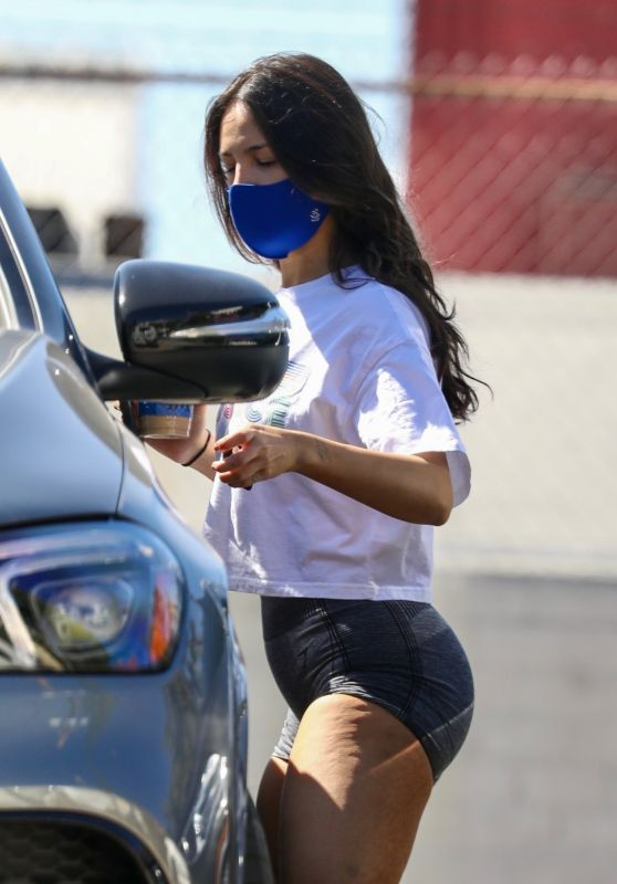 Eiza Gonzalez - Leaving Gym in West Hollywood 03/02/2021