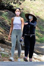 Eiza Gonzalez - Out on a Hike in LA 02/28/2021