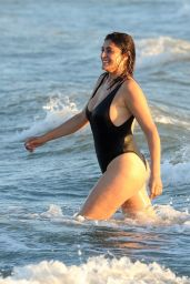 Elisa Isoardi in a Swimsuit - Fiumicino Septrember 2020