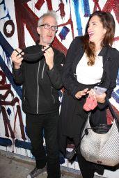 Elisa Jordana and Andy Dick - Outside of Craig