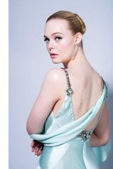 Elle Fanning – 2021 Golden Globes Photoshoot