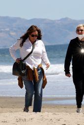 Ellen DeGeneres - Santa Barbara Beach 03/21/2021