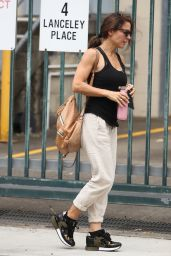 Elsa Pataky at the ABC Quarters in Sydney 03/02/2021