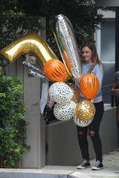 Elsa Pataky Balloons It Up - Sydney 03/17/2021