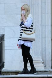 "Emily Alyn Lind - ""Gossip Girl""  in New York City 02/25/2021"