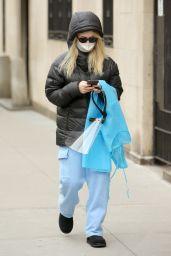 "Emily Alyn Lind - ""Gossip Girl"" Set in New York 03/16/2021"