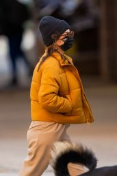 Emily Ratajkowski in Casual Outfit NYC 03/14/2021