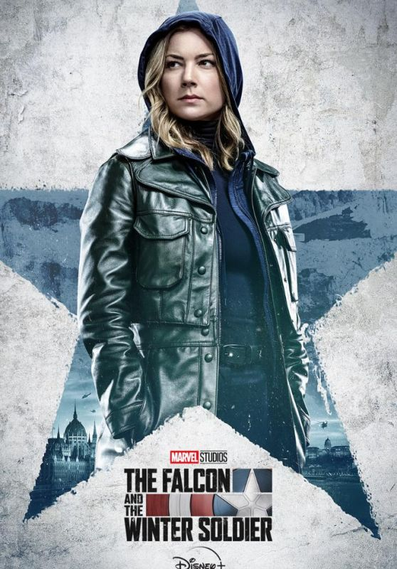 """Emily VanCamp - """"The Falcon and The Winter Soldiers"""" Poster"""