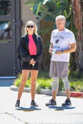Emma Krokdal and Dolph Lundgren - Out in Beverly Hills 03/24/2021