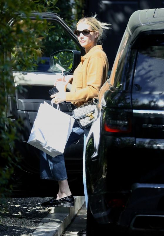 Emma Roberts - Out in Los Angeles 03/29/2021