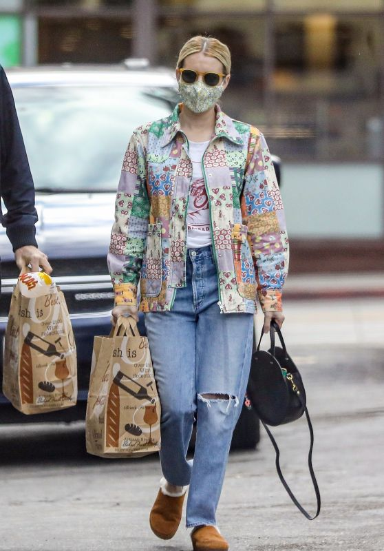 Emma Roberts - Shopping in Beverly Hills 03/15/2021