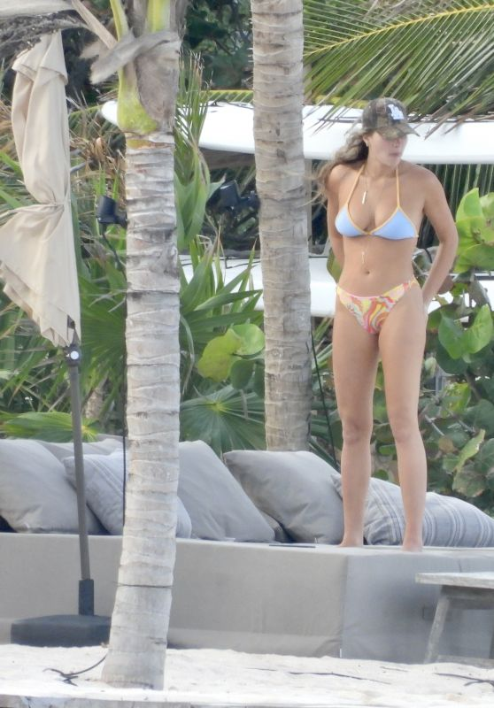 Francesca Aiello in a Bikini in Tulum 03/14/2021