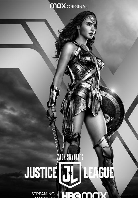 "Gal Gadot - Zack Snyder´s ""Justice League"" Promo 2021"