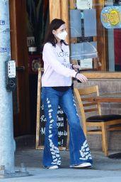 Geena Davis Street Style - Los Angeles 03/22/2021