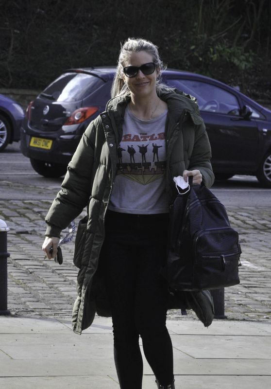 Gemma Atkinson - Out in Manchester 03/22/2021