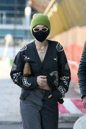 Gigi Hadid – Leaving a Versace Fitting in Milan 02/28/2021