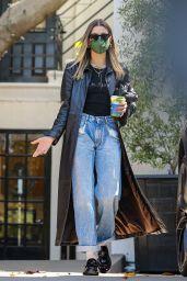 Hailey Baldwin Cool Street Style - West Hollywood 03/29/2021