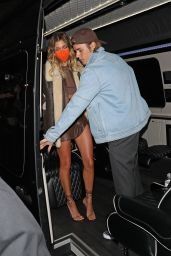 Hailey Rhode Bieber and Justin Bieber at the Nice Guy in West Hollywood 03/25/2021