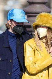 Hailey Rhode Bieber and Justin Bieber - Paris 02/28/2021