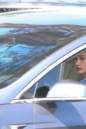 Hailey Rhode Bieber - Arriving at the Dog Pound Gym in LA 03/08/2021