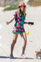 Hailey Rhode Bieber - Photoshoot Set at a Beach in Malibu 02/27/2021