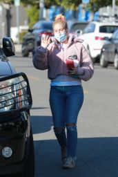 Heidi Montag - Leaves a Skin Salon in Santa Monica 03/02/2021