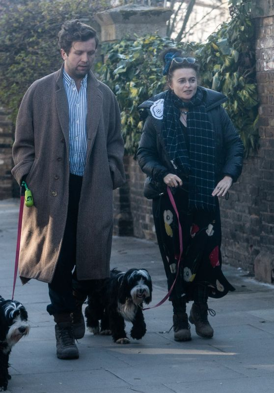 Helena Bonham Carter - Out in North London 03/22/2021