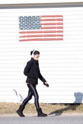 Hilaria Baldwin - Out in the Hamptons, New York 03/04/2021