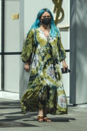 Hilary Duff - Shopping in Beverly Hills 03/23/2021