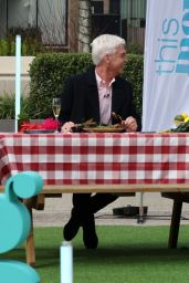 """Holly Willoughby - """"This Morning"""" Filming 03/29/2021"""