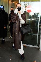 Irina Shayk Arriving in Italy for Milan Fashion Week 02/28/2021