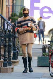Irina Shayk Street Style 03/21/2021