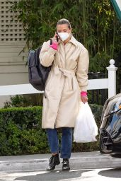 Jaime King at San Vicente Bungalows in West Hollywood 03/03/2021