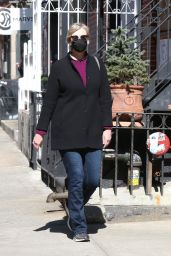 Jane Lynch - Out in SoHo New York 03/22/2021