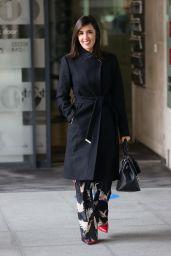 Janette Manrara in Stylish Coat 03/24/2021