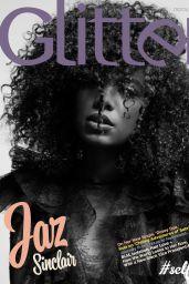Jaz Sinclair - Photoshoot for Glitter Magazine November 2020