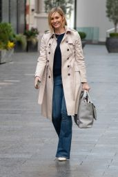 Jenni Falconer in Casual Outfit - London 03/15/2021