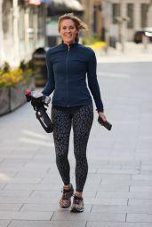 Jenni Falconer in Lycra Leggings 03/27/2021