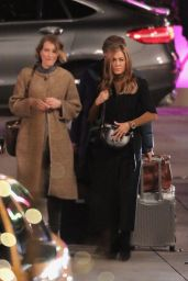 """Jennifer Aniston and Reese Witherspoon - """"The Morning Show"""" Filming Set in LA 03/10/2021"""