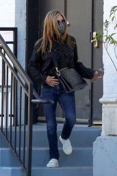 Jennifer Aniston - Leaving a Hair Salon in Beverly Hills 03/15/2021