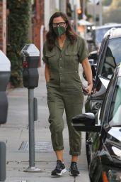 Jennifer Garner in Army Green Jumpsuit in Brentwood 03/10/2021