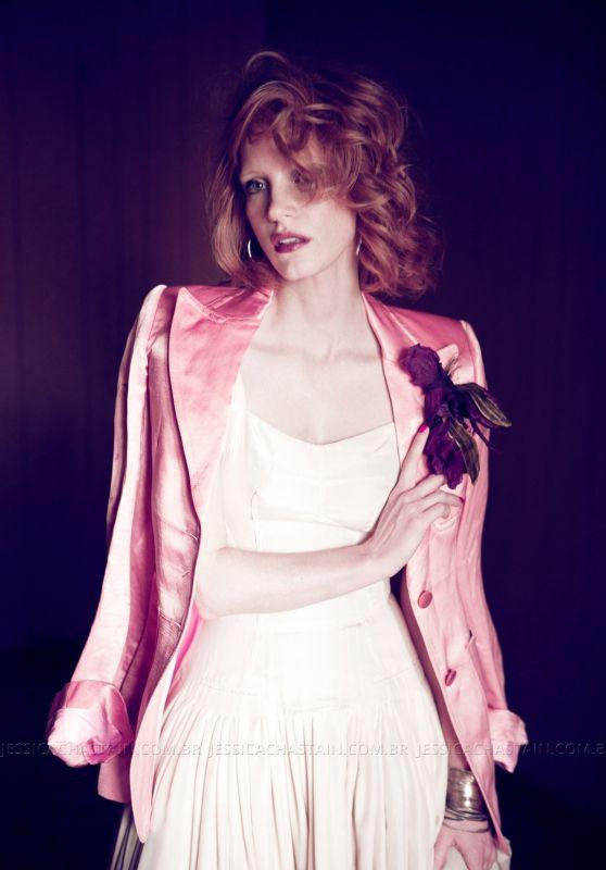 Jessica Chastain - Angeleno Magazine May 2011