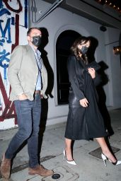 Jordana Brewster Night Out Style - West Hollywood 03/15/2021