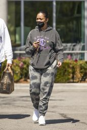 Jordyn Woods With Her Brother in LA 03/13/2021