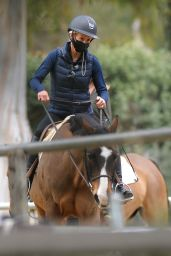 Julia Carey - Taking Horse Riding Lessons in the Palisades 03/25/2021